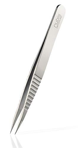 Rubis Splitterpincet Pointer – pincet voor ingegroeide haren en splinters – spits Progrip.