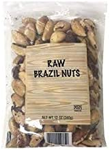 Trader Joe's Raw Brazil Nuts 12 oz Bag (Pack of 2)