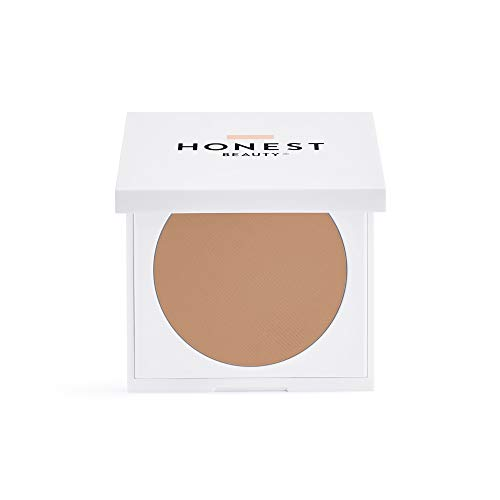 Honest Beauty Everything Cream Foundation, Beige | Demi-Matte, Lightweight, Medium-to-Full Coverage | Talc Free, Dermatologist Tested, Cruelty Free | 0.31 oz.