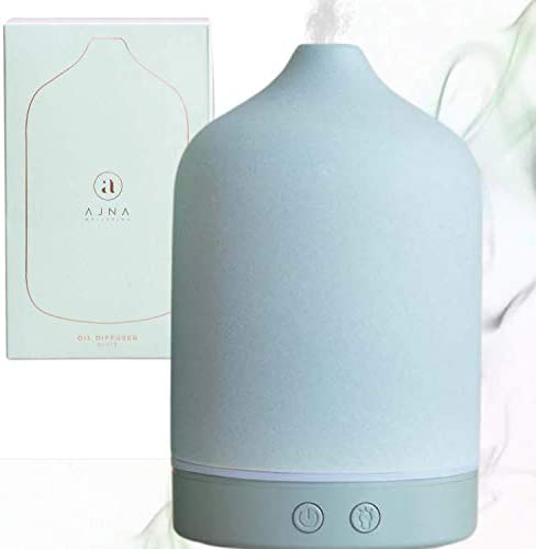 Ajna Ceramic Diffusers for Essential Oils Elegant Aromatherapy Diffuser for Home and Office product image