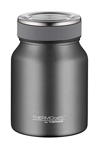 ThermoCafé by THERMOS TC - Termo de acero inoxidable (500 ml), color gris