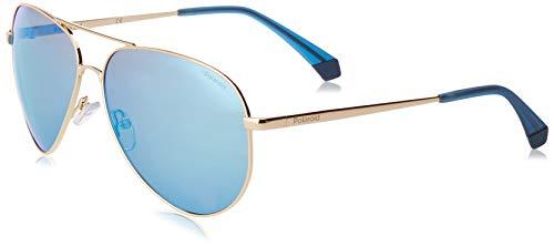 Polaroid PLD 6012/n/new Sunglasses, J5G/5X Gold, 62 Unisex-Adult