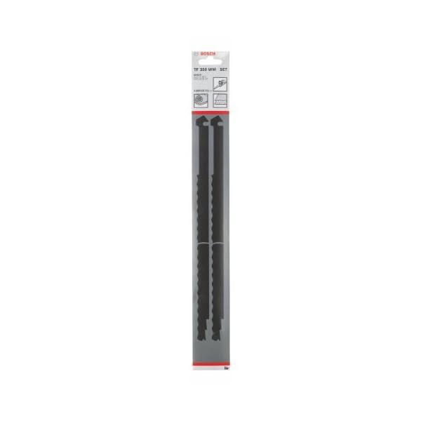 Bosch 2 608 635 512 - Set de 2 cuchillas TF 350 WM - TF 350 WM (pack de 2)