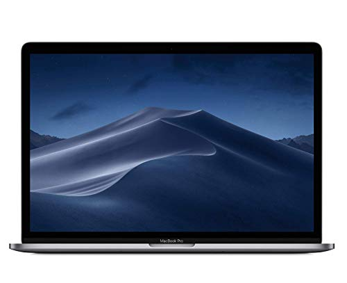 "Apple MacBook Pro (15"" con Touch Bar, Processore Intel Core i7 6-core di ottava generazione a 2,6GHz, 512GB) - Grigio Siderale"