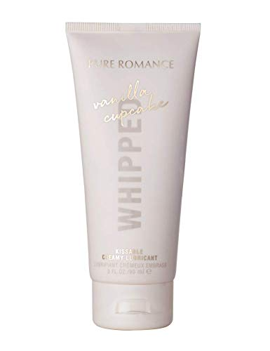 Whipped Creamy Vanilla Cupcake Lubricant by Pure Romance | Personal Lubricant for all Couples | Safe Lightweight Gel Lubricant