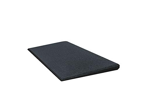 Türschwellenrampe Excellent 500/25 mm hoch aus Gummigranulat hochverdichtet (schwarz)