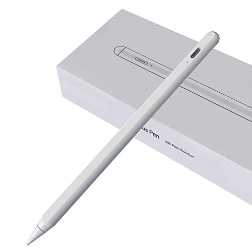 Apple Pencil Anti-mistouch Capacitive Pen,Stylus Drawing Stylus,Suitable for IPad Tablet Above 2018 or IOS12.2 Above Version