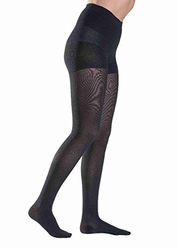 Sigvaris medias de compresión sigvaris magia 1 AD rodilla calcetines altos long abierto toe - marrón, M