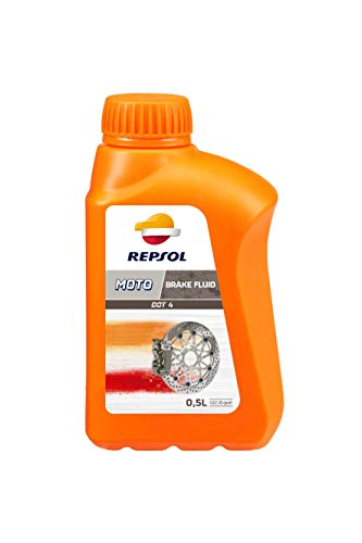 Repsol RP713A56 Moto Dot 4 Brake Fluid Liquido de Frenos, 500 ml