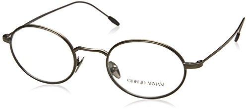 Armani Herren 0AR5076 Brillengestell, Grau (Brushed Gunmetal), 48