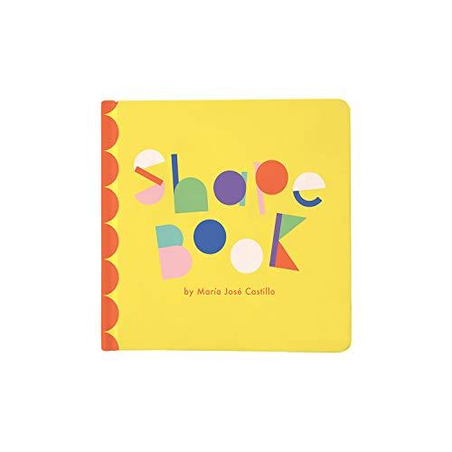 Manhattan Toy- Livre bébé, Formes de Jouets de Manhattan, à partir de 6 Mois, 217470, Multicolore