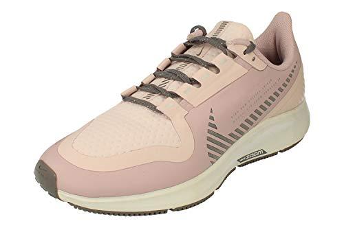 Nike Donne Air Zoom Pegasus 36 Shield Running Trainers AQ8006 Sneakers Scarpe (UK 6.5 US 9 EU 40.5, Plum Chalk Barely Rose 500)