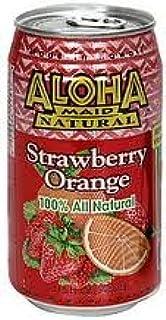 Aloha Maid Strawberry Orange 24 Cans X 11z