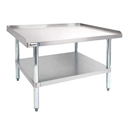 Adcraft ES-2436 Our shop most popular Heavy-Duty Equipment S 16-Gauge Nippon regular agency Stainless Stand