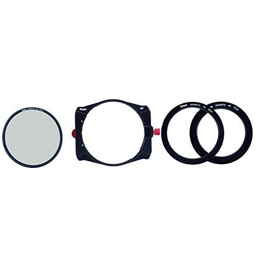 Kase K9 Slim 100 mm Filterhalter Kit inkl. magnetischem CPL & 67 mm 72 mm 77 mm 82 mm Adapter