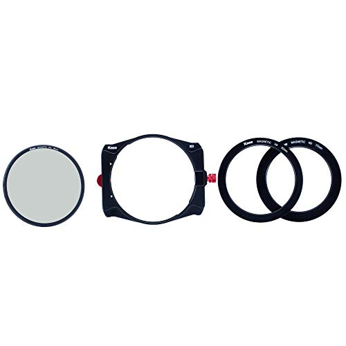 Kase K9 Slim 100mm Filter Holder Kit Includes Magnetic CPL & 67mm 72mm 77mm 82mm Adapters