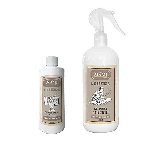 Mami Milano – Esencia 200 ml + agua para planchar – Perfumes de Oriente