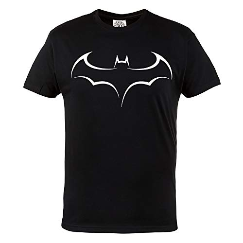 Rule Out t-shirt. batman. SCURO knight. supereroe palestra. bodybuilding. allenamento. sportswear. crossfit. fitness. MARZIALE arti. Casual - Nero, Large