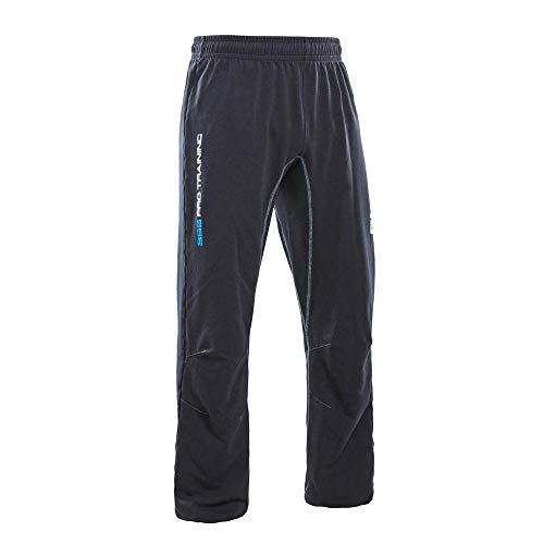Salming Crest Pant Handball Hose Torwarthose schwarz/weiß 1197619-0101, Größe:XL