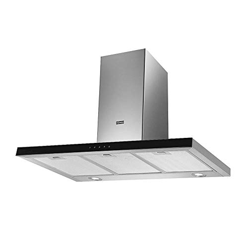 COIFA GLASS TOUCH - PAREDE 90cm 220V