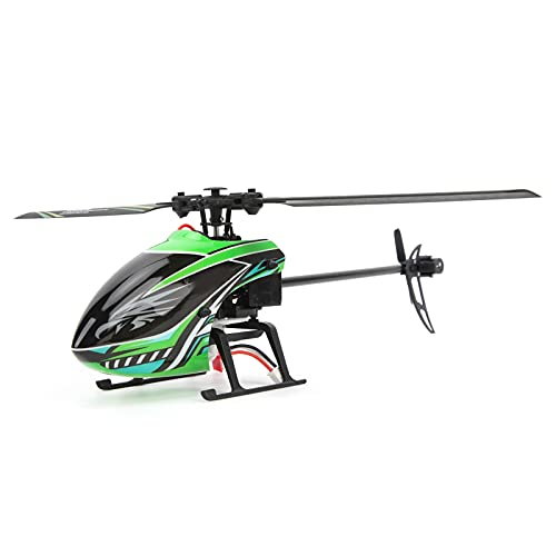 SPYMINNPOO Elicottero Telecomandato a 2,4 GHz, 4CH 6‑Aixs Aircraft One Key Take off Indoor Flying Toy per Adulti Kid Beginner
