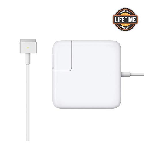Mac Book Air Charger, Great Replacement 45W Magsafe 2 Magnetic T-Tip Power Adapter Charger for...