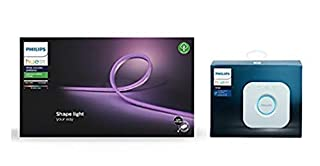 Philips Hue Smart Outdoor Lightstrip White and Colour Ambiance [5m] + Philips Hue Bridge Bundle. Works with Alexa, Google Assistant and Apple HomeKit (B07QSCCYQ9) | Amazon price tracker / tracking, Amazon price history charts, Amazon price watches, Amazon price drop alerts