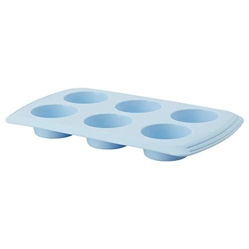 Form hellblau Kreis Produktgröße Länge: 33 cm Breite: 19 cm Höhe: 3,5 cm Materialien: Silikon Gummi