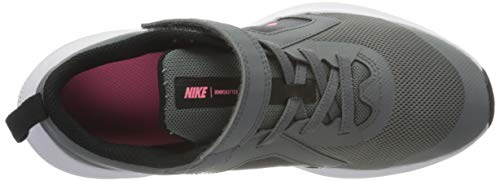 Nike Boy's Unisex Kids Downshifter 10 (PSV) Running Shoe, Smoke Grey Sunset Pulse Black, 13.5 UK Child