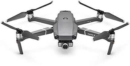 DJI Mavic 2 Zoom - Drone Quadcopter UAV with Smart Controller Optical Zoom Camera 3-Axis Gimbal 4K Video UAV 12MP 1/2.3