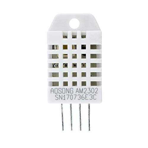 DHT22 Digital Temperature and Humidity Sensor, Aideepen AM2302 Temp Humidity Monitor Sensor Replace SHT15 SHT11 for Arduino