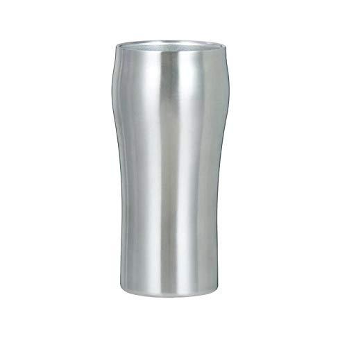 Edelstahlbecher-Metalltrinkgläsercreative Stemless Vacuum Insulated Cup Edelstahl Kaffee Wein Bier Milchbecher Thermo Kochgeschirr Auto Travel Cups Trinkbecher-Hellgrau_401-500Ml