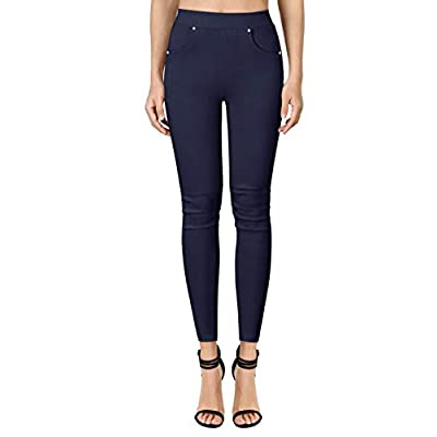 Yesfashion Womens Stretch Slim Skinny Pants Str...