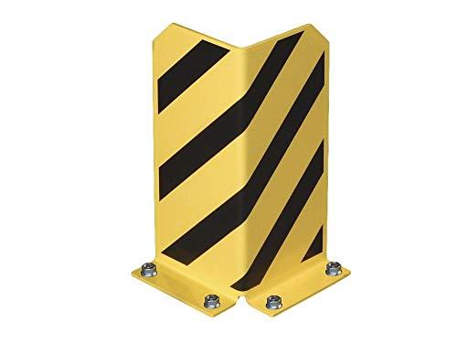 L-Form Pfostenschutz Regalecke Anfahrschutz Schutzecke Rammschutzecke DAS ORIGINAL, Höhe 400 mm nach BGR 234 Sicherheitrichtlinien nach DIN 4844! 5 mm Materialstärke Rammschutz