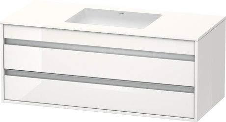 Duravit KT685601414 wastafel onderkast 1200x550 terra