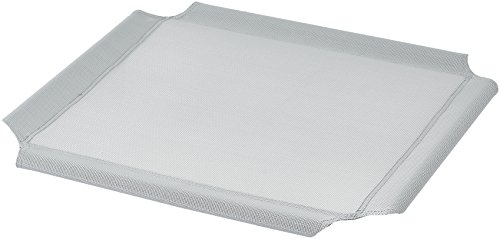 Amazon Basics Elevated Cooling Pet Bed Replacement Cover, XS, Grey