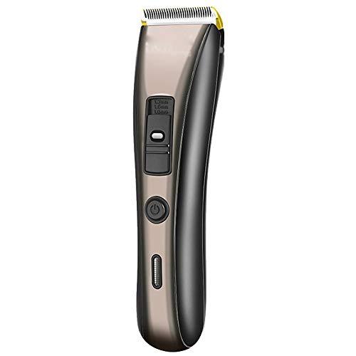 ZLDGYG DYJDZ Cortadora de Pelo Recargable para barbero, cortadora de Pelo para la Nariz, afeitadora para Barba, máquina de Afeitar para Hombre, Corte para Nariz, Oreja, 4 peines de límite