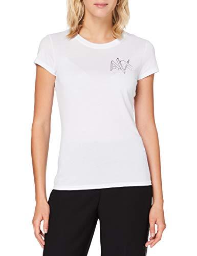 Armani Exchange Womens T-Shirt, White, L