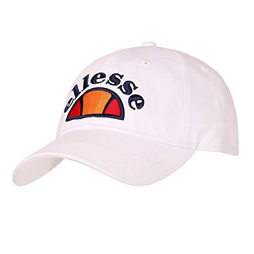 Ellesse Heritage Mens Saletto 90s Baseball Cap White