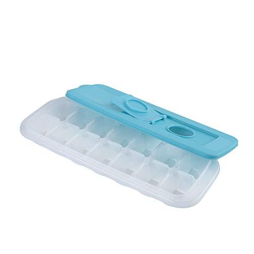 Marjory 14 Grid ICES Cubes Plateau avec Couvercle, Glaces Faire Un Outil Bacs à glaçons Machine à glaçons Moule à glaçons pour Candy Pudding Juice Cho