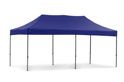 Tentastic Faltpavillon, blau, 3 x 6 Meter, AZPP18BLAU