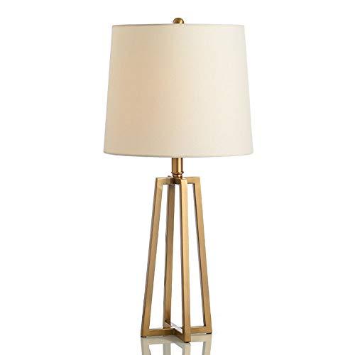 Stella Fella Las Ideas Modernas Sencilla Hierro Metálico Estudio Dormitorio De La Lámpara De Mesa Lámpara De América del Cabezal 1 * E27 (36 * 65cm)