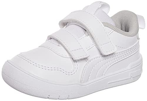 PUMA MULTIFLEX SL V Inf, Scarpe da Ginnastica Unisex-Bambini, Colore Bianco, 26 EU
