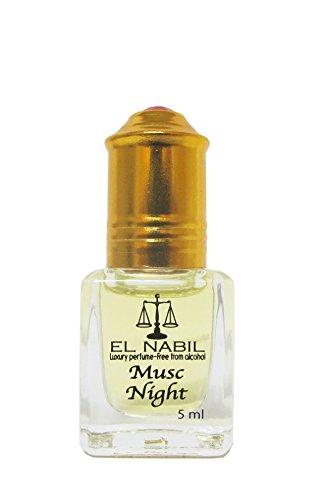 Orientalisches Parfüm/Arabisches Parfümöl El Nabil Musc Night 5 ml Alkoholfrei