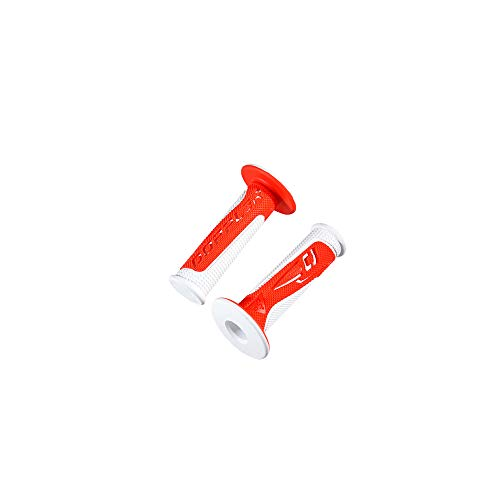 revetement/poignee Doppler Grip Radical Blanc/Rouge (pr)