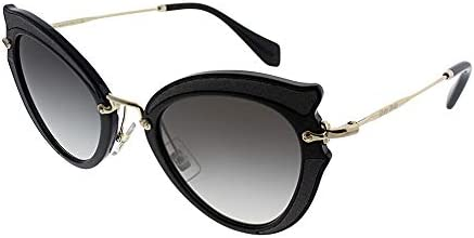 Miu Miu Women s 0MU 05SS Black Grey Gradient Sunglasses product image