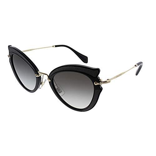 Miu Miu Women's 0MU 05SS Black/Grey Gradient Sunglasses