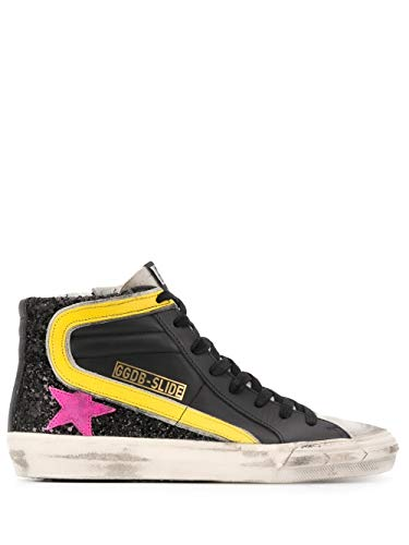 Golden Goose Luxury Fashion Damen G36WS595A81 Schwarz Hi Top Sneakers |