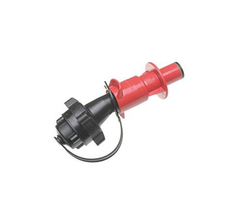 hünersdorff Kraftstoff Sicherheits-Einfüllsystem für PROFI + ECO Doppelkanister, mit Füllstopp und integrierter Belüftung, E10 geeignet, Made in Germany