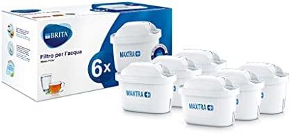 Brita Filtri per Acqua MAXTRA+ Pack 6, 6 Mesi di Filtrazione